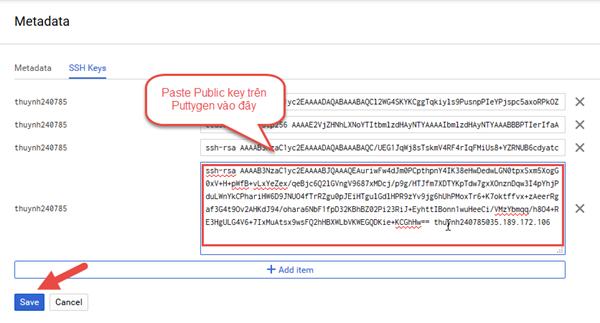 Hướng dẫn cách tạo VPS trên Google Cloud