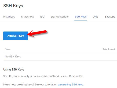Thêm SSH Key trên VPS ở Vultr và DigitalOcean